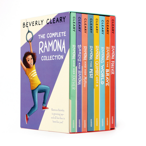The Complete Ramona Collection 페이퍼백 8종 박스 세트