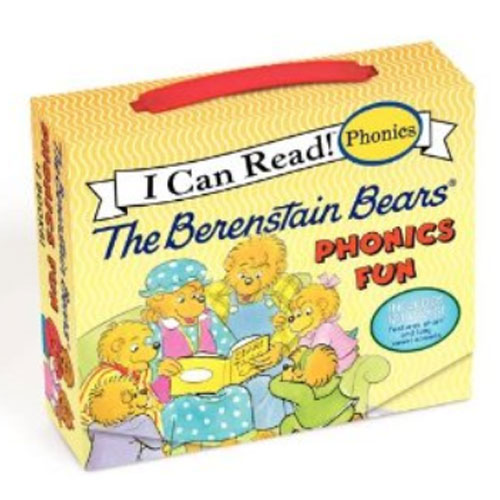 The Berenstain Bears Phonics Fun 페이퍼백 12종 박스 세트