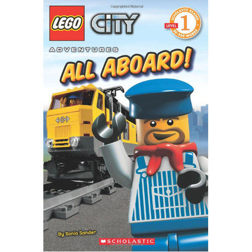 Scholastic Reader Level 1 Lego City Adventures: All Aboard!