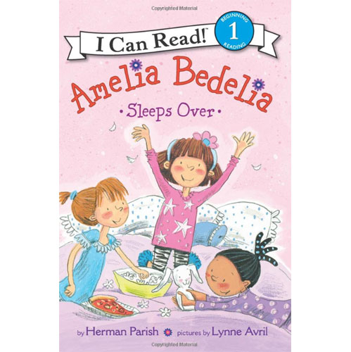I Can Read Level 1 : Amelia Bedelia Sleeps Over