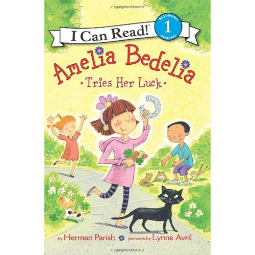 I Can Read Level 1 : Amelia Bedelia Tries Her Luck
