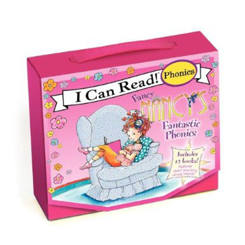 Fancy Nancy's Fantastic Phonics (My First I Can Read) 페이퍼백 12종 박스 세트