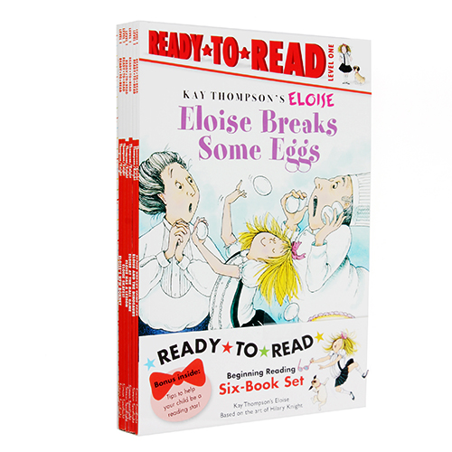Eloise Ready-To-Read Value Pack #2 : 페이퍼백 6종 (Level 1)