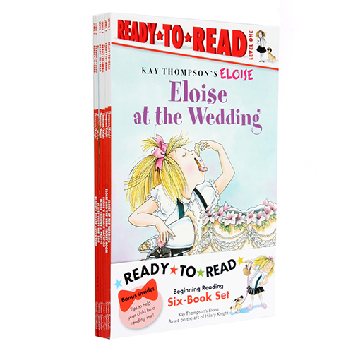 Eloise Ready-to-Read Value Pack : 페이퍼백 6종 (Level 1)