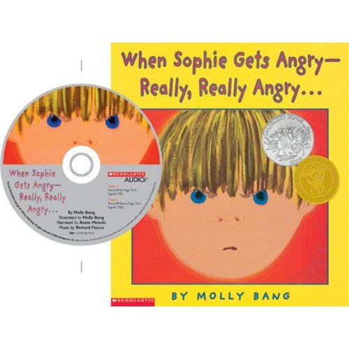 When Sophie Gets Angry-Really Really Angry (Book & CD)