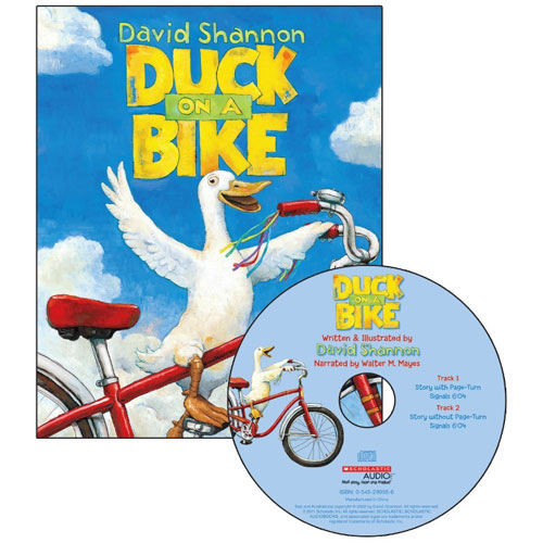 Duck on a Bike (Scholastic Book & CD)