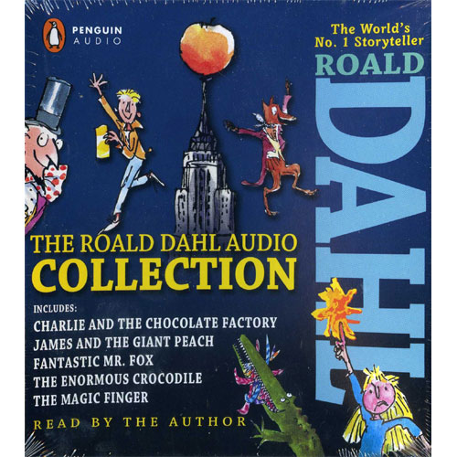 The Roald Dahl Audio Collection 을 읽어주는 Audio CD (4 CDs) (도서 미포함)