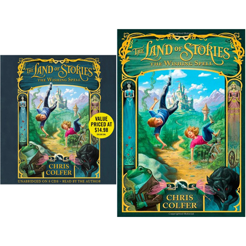The Land of Stories: The Wishing Spell (Paperback+CD) 세트