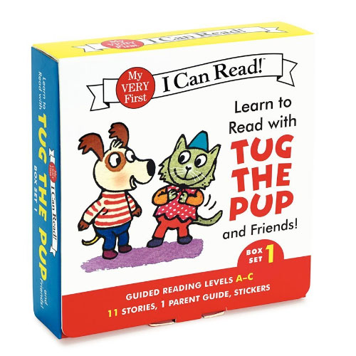 Learn to Read with Tug the Pup and Friends! Box Set #1 : Levels Included: A-C (My Very First I Can Read!)