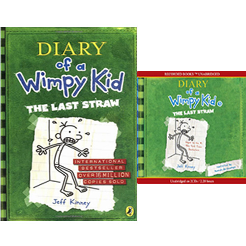 Diary of a Wimpy Kid #3 : The Last Straw (Paperback+CD) 세트