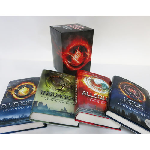 Divergent Series Ultimate Four-Book Box Set: Divergent, Insurgent, Allegiant, Four