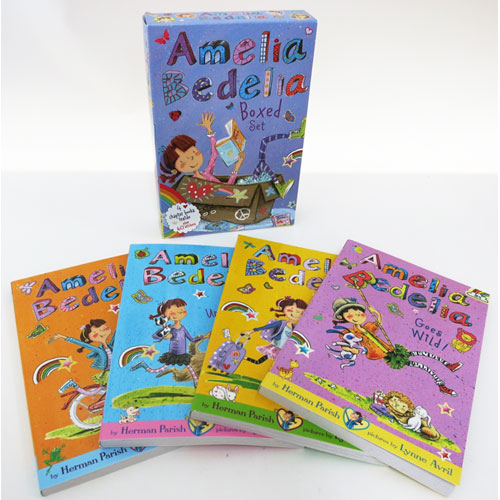 Amelia Bedelia Chapter Books Boxed Set #1: Books 1-4