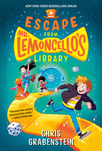 #1. Escape from Mr. Lemoncello's Library