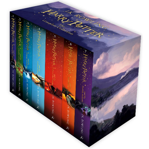 Harry Potter Box Set: The Complete Collection (Children's Paperback) 페이퍼백 7종 박스 세트
