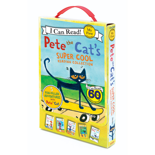 My First I Can Read : Pete the Cat's Super Cool Reading Collection  페이퍼백 5종 박스 세트