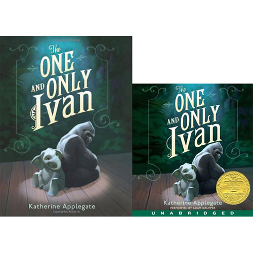 The One and Only Ivan (Paperback+CD) 세트