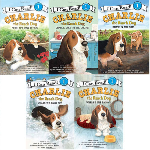 I Can Read Level 1 : Charlie the Ranch Dog 5종 세트