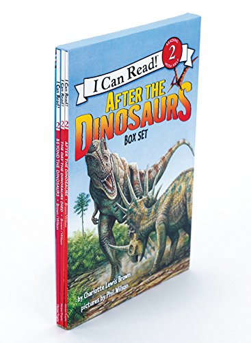 I Can Read Book 2 : After the Dinosaurs 페이퍼백 3종 박스 세트