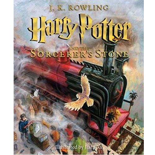 Harry Potter #1 : Harry Potter and the Sorcerer's Stone : Illustrated Edition