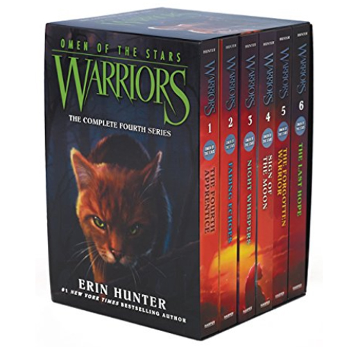 Warriors 4부 Omen of the Stars Box Set 페이퍼백 1-6권 박스세트