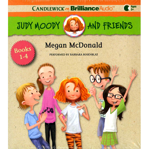 Judy Moody and Friends Collection #1~#4 를 읽어주는 Audio CD (2 CDs) (도서 미포함)