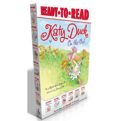 Ready-to-Read Level 1 : Katy Duck on the Go! 페이퍼백 6종 박스 (Carry-along boxed set)