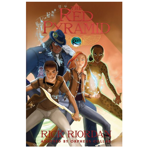 The Kane Chronicles #1: Red Pyramid: The Graphic Novel